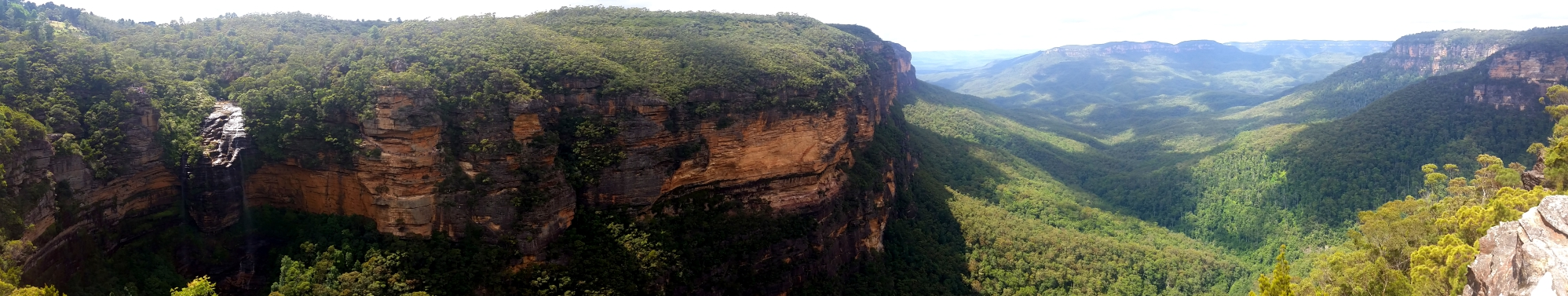 You wont fall asleep trekking here -Blue mountains near Sydney
